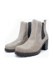 Bota Barth Shoes Bury Resina - Cinza
