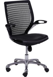 Cadeira Para Escritório Moderna 3313-Or Design - Preto