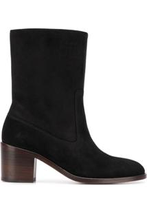A.P.C. Ankle Boot 'Eva' - Preto