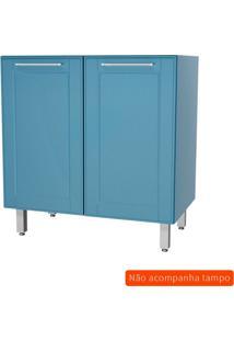 Balcão De Cozinha Play Ii 2 Pt Azul