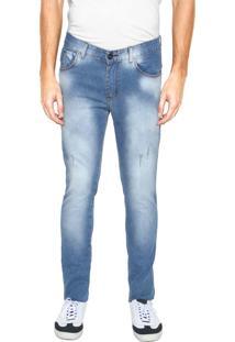 Calça Jeans Fiveblu Skinny Eco Azul