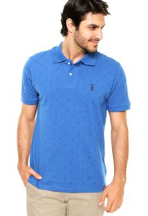 Camisa Polo Stn Ancora Azul