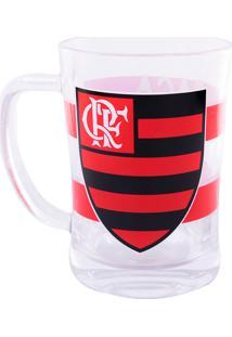 Caneca Minas De Presentes Flamengo Transparente