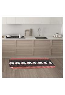 Tapete De Cozinha Mdecore Vaquinha Colorido 40X120Cm