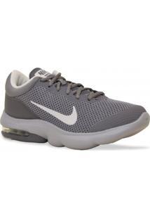 Tenis Nike Running Air Max Advantage Cinza Branco