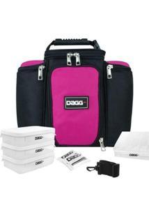 Bolsa Térmica Fitness Dagg 6L - Unissex-Preto+Rosa