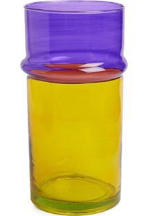 Hay Vaso Moroccan Grande - Amarelo