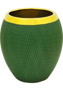 Vaso Decorativo De Cerâmica Young P