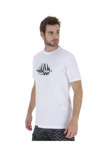 Camiseta Volcom Stone Sounds - Masculina - Branco