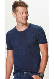 Camiseta Azul Escuro