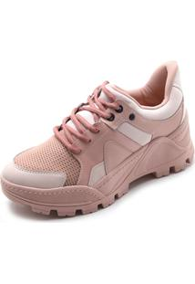 Tênis Tanara Dad Sneaker Rosa