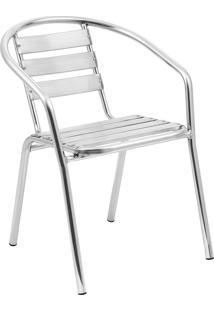 Cadeira Em Aluminio A100 – Alegro Móveis. - Alumínio