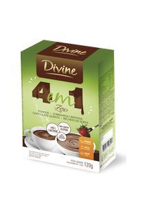 Fondue Preparo Em Pó 4 Em 1 Zero Divine 120G