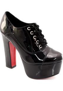Ankle Boot Verniz Sapato Show 836