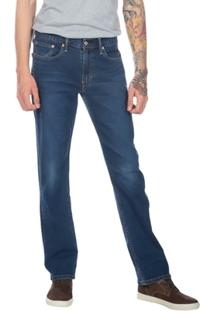 Calça Jeans Levis Man 514 Straight Escura - Masculino