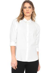 Camisa Jdy Recortes Branca