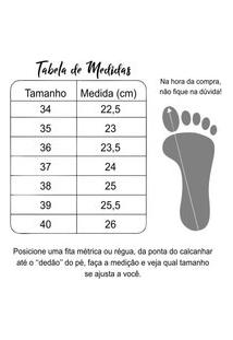 Sandália Anabella Zapatus Jeans.