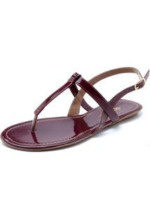c1763f538 R$ 69,90. Dafiti Rasteira Dafiti Shoes Tiras Vinho