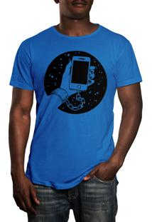 Camiseta Hshop Slave - Azul Turquesa