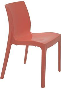 Cadeira Alice- Rosa Coral- 80,5X49,5X51,5Cm- Tratramontina