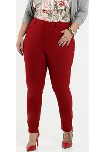 Calça Feminina Bengaline Skinny Plus Size Gups