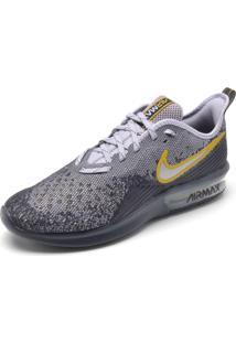 Tênis Nike Sportswear Air Max Sequent 4 Cinza/Branco