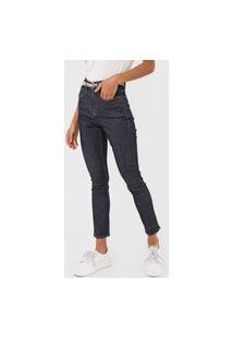 Calça Jeans Calvin Klein Skinny Pespontos Azul
