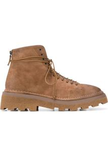Marsèll Ankle Boot Com Solado Rígido - Marrom