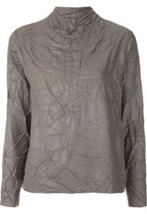 Uma | Raquel Davidowicz Blusa Caldas Texturizada - Concreto