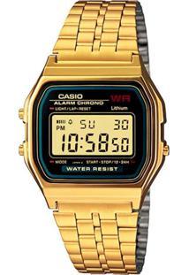 Relógio Casio A159Wgea1Df Dourado