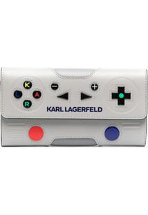 Karl Lagerfeld Carteira K/Ikon - Cinza
