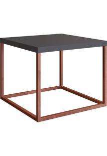 Mesa Para Sala De Estar Artesano Cube P 32.5Cm Manhattan