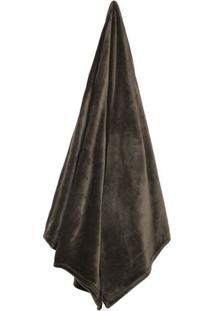 Cobertor Velour Queen Size- Marrom- 220X240Cm- 3Camesa