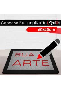 Tapete Capacho Personalizado Vinil-Gs - 60X40Cm