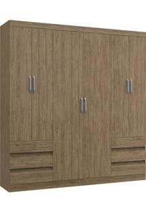 Guarda-Roupa 6 Portas Decibal Rp5066 Wood Se