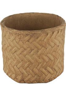 Vaso Decorativo De Cimento Kolwe G
