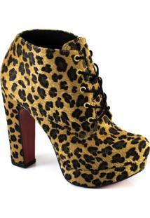 Ankle Boot Meia Pata Lita Sapato Show 943716