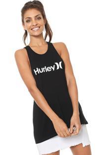 Regata Hurley Logo Preta