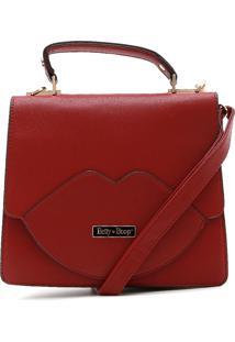 Bolsa Betty Boop Logo Vermelha