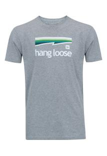 Camiseta Hang Loose Colorbow - Masculina - Cinza