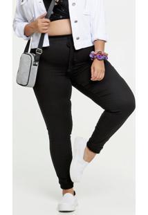 Calça Feminina Bolsos Plus Size