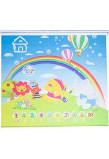 Persiana Infantil Parklon Arco Iris 185Cm X 185Cm