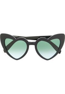 Saint Laurent Eyewear Óculos De Sol 'New Wave Sl 181 Lou Lou' - Preto