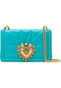 Dolce & Gabbana Devotion Shoulder Bag - Verde