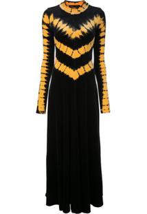 Proenza Schouler Vestido De Veludo Com Amarração - Preto