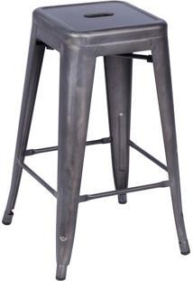 Banqueta Retrã´- Bronze- 68X41,5X41Cm- Or Designor Design