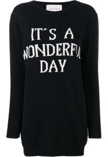 Alberta Ferretti Vestido 'Its'S A Wonderful' - Preto