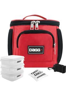 Bolsa Térmica Fitness Sport Vermelha M - Dagg - Kanui