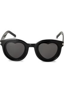 Óculos De Sol Detalhe Coração
