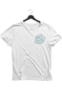 Camiseta Jay Jay Básica Kick Ass Branca Dtg